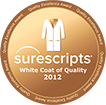 Surescripts White Coat of Quality Award - EMR